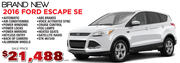 Ford Escape SE For Sale in Toronto