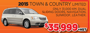 2015 Town & Country Limited Toronto