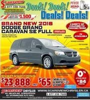2016 Dodge Grand Caravan SE Full Toronto