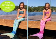 Fantasyfin.com provides custom made mermaid swimsuit in Canada