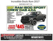 2017 Ram 1500 Sport Crew Cab 4X4 Toronto
