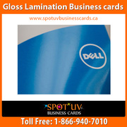 High Quality Gloss Laminated Business Cards - Canada