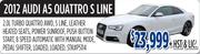 2012 Audi A5 Quattro S Line Toronto