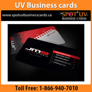Professional UV Business Cards- By Spotuvbusinesscards.ca
