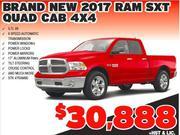 New 2017 Ram SXT Quad Cab 4X4 Toronto