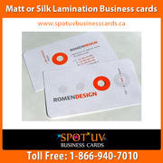 250 Matte Business Cards $195.00 - Fast Shipping – Spotuvbusinesscards