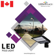 LED Pole Lights, to insure your safety and security.
