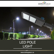 Switch to long lasting outdoor led pole lights for your outdoors.