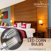 Get the LED Corn Bulb for your garages,  outside buildings etc.