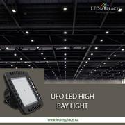 Use High Bay LED UFO Light 240w Light Inside Auditorium for Better Res
