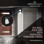 LED Wall pack light The Best option for outdoors and indoors.