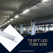Purchase 8ft LED Integrated Tubes for Better lightning.