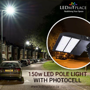 Use 150W LED Pole Lights And Allow Drivers Reach Their Homes Safely