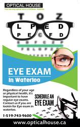 Eye Exam in Waterloo