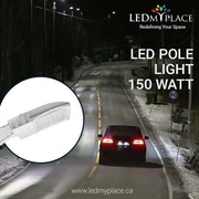 Use Photocell Enabled 150W LED Pole Lights and Save the Fuel