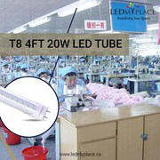 Switch to Eco-Friendly T8 4FT 20W LED Tube For Indoor Lighting