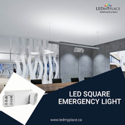 Get The LED Square Emergency Light for Any Emergency Situation