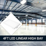 Illuminate Your Surroundings by LED Linear High Bay Lights