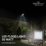 Inside your Property by Installing 50W LED Flood Lights