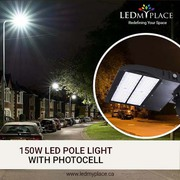 Easily Install 150W LED Pole Lights for Street Lighting