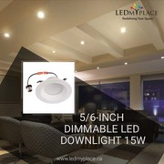Install 5/6'' LED Eyeball Dimmable Downlights in your Art Galleries