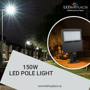 Make the Streets Ideal Place to live-in by Fixing 150W LED pole Lights
