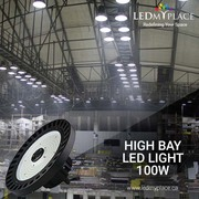 Use Lightweight 100W UFO LED High Bay Lights for Cleaner Lights