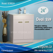 *Bathroom Vanity* Vanities Cabinet*Faucets*Bathtub*Toilet*$59 UP