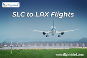 Grab your Best Flights Ticket deals from SLC to LAX with Flightsbird