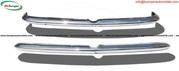 Alfa Romeo Sprint bumper (1954-1962) stainless steel