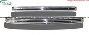 VW Type 3 bumper type (1970-1973) in stainless steel