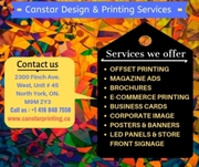 North York Print Shop | Best Printing Services North York