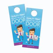Premium Door Hangers Printing in Canada | Printcloud Inc.