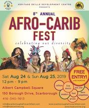 The 8th Annual Afro-Carib Fest