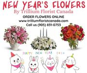 New Year's Flowers 2020 by Trillium Florist Canada
