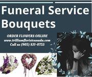 Funeral Service Bouquets by Trillium Florist Canada