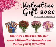 Best Valentine Day Gift Idea 2020 by Florist in Markham