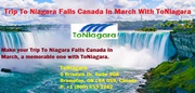 Trip To Niagara Falls Canada In March With ToNiagara