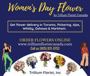 International Women's Day Flowers 2020