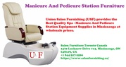 Manicure And Pedicure Station Furniture