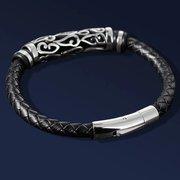 Mens Leather Bracelet - Free Soul Bracelet