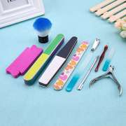 Offers materials for manicure