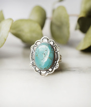 handmade jewelry canada  - vintage turquoise rings