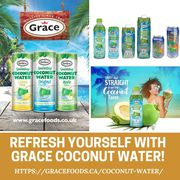 Chase Natural Coconut Water in Canada - Grace Foods