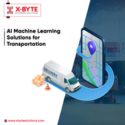 AI Machine Learning Solutions for Transportation | X-Byte