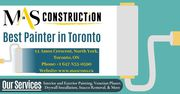 Best Painter in Toronto - Mas Construction Painting Contractor