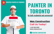Best Painter in Toronto for Commercial and House Painting