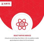 React Native App Development Company in Calgary | CANADA | X-Byte