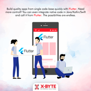 Flutter App Development | X-Byte Enterprise Solutions