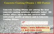 Concrete Coating Ottawa   HD Fortier